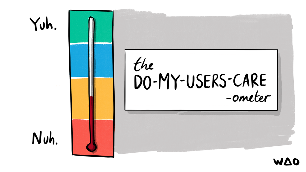 The do-my-users-case-ometer